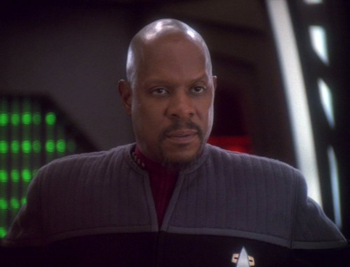 Image result for star trek sisko