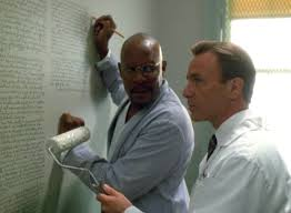 """What? A Black man can't write amazing science fiction on the walls without folk thinking he's crazy?"""