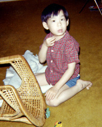 Me with Hot Wheels circa 1971