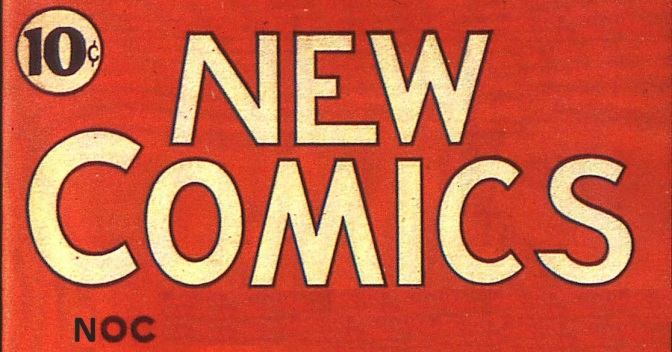 New Adventure Comics was the predecessor to DC Comics.