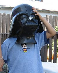 My Darth Son circa 2008