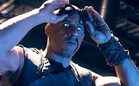 On an unrelated note, here's my two-word review of Riddick: eyeball-meltingly terrible. Yeah, that's why Riddick's eyes look like that. He sucks so much he melted his own eyeballs.