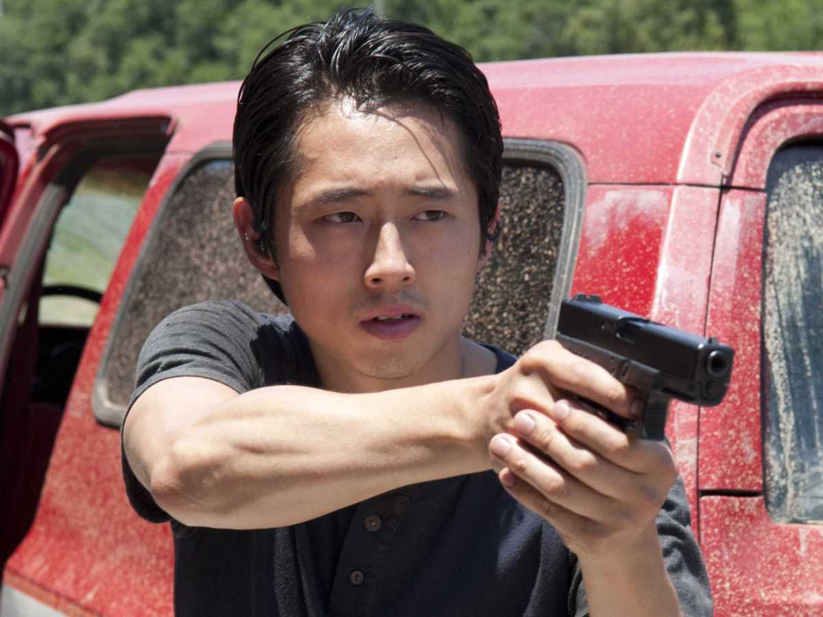 glenn of the walking dead is the best response to anti-asian