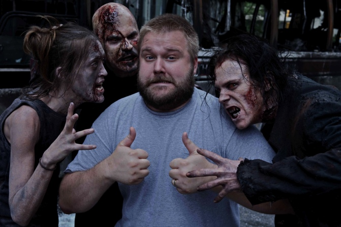 Robert Kirkman is the Frank Miller of Zombies