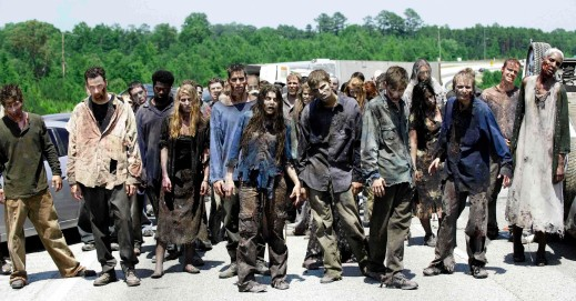 That Black male zombie and his perfectly coifed hair sticks out like some politically incorrect euphemism I'm not going to write.