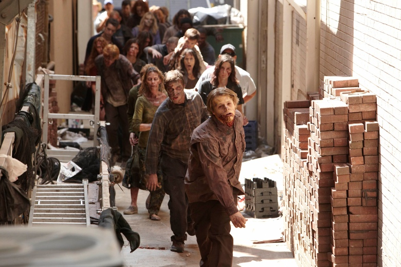 This would also be the zombie horde that would greet you if the zombie virus attacked Seattle's grunge scene during mid-90's.
