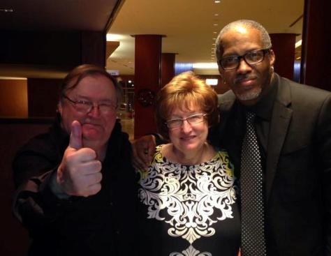 Davis wit Don and Marsha McGregor (photo by Melissa Geppi-Bowersox)