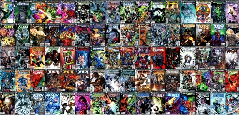 "Did you want to follow ""Blackest Night?"" These were all the issues you needed to collect."