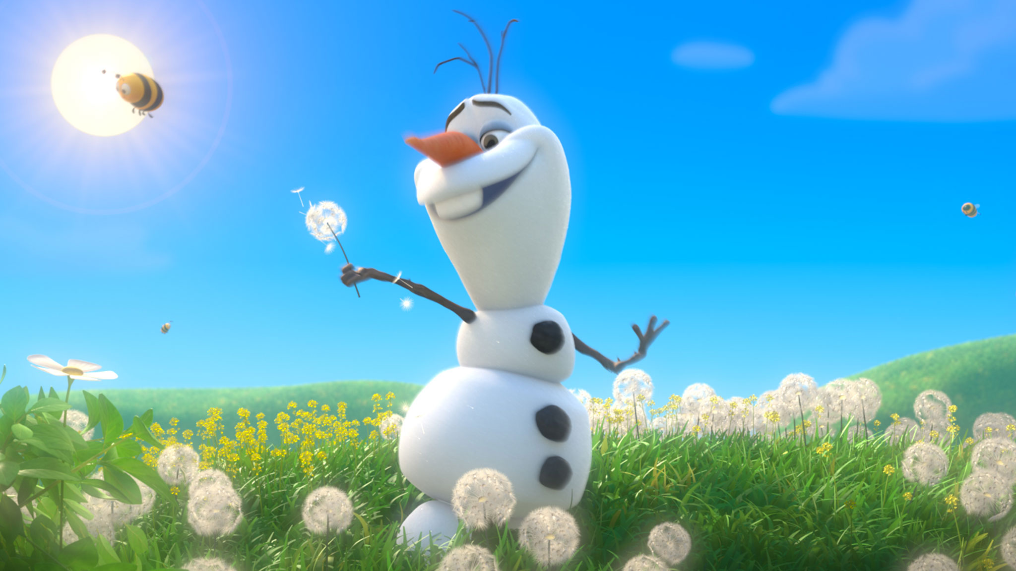 Olaf Happy Snowman Gif A happy snowman: in defense of