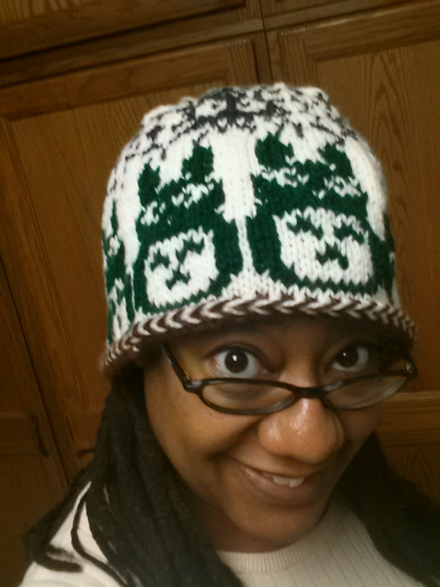 So I Knitted Myself A Totoro Hat The Nerds Of Color