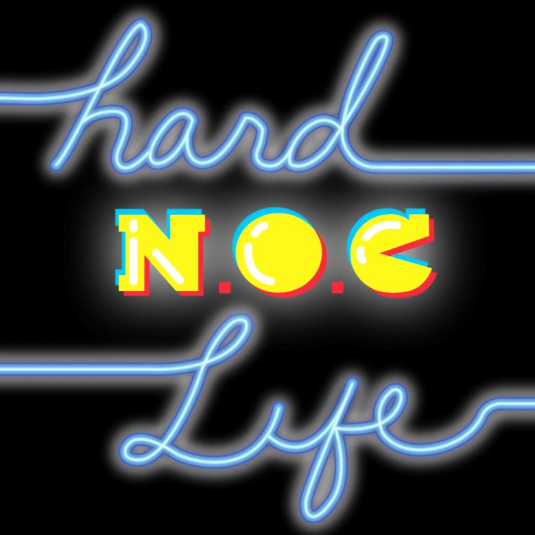 hard noc life black bg