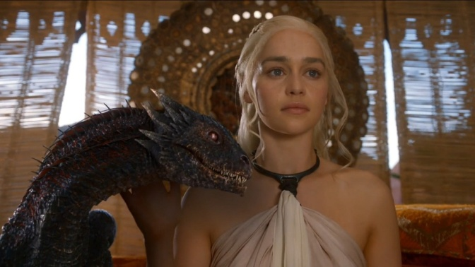 Dany and Dragon