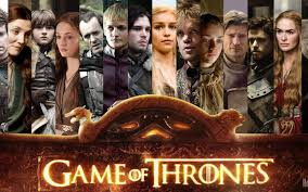 Image of the cast of the television show Game of Thrones.