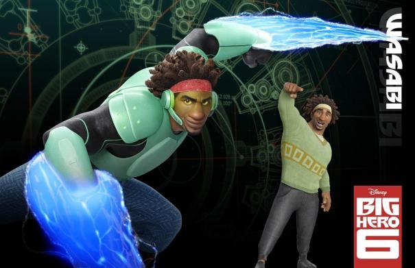 Wasabi from Big Hero 6 (Photo: Disney)