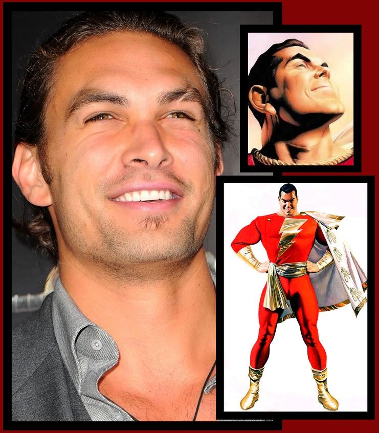 Forget Aquaman, Jason Momoa Must Be Shazam!
