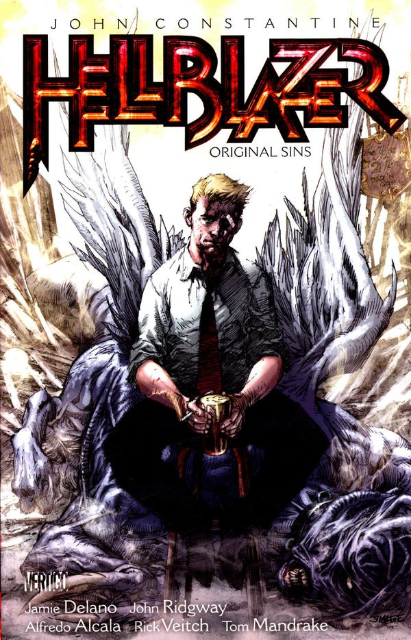 I've always been interested in the occult, and the way that it is presented in the Hellblazer book is fascinating.