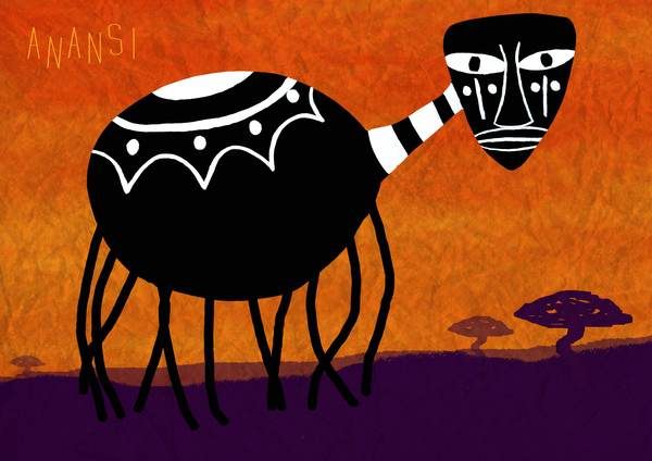 Anansi stories originating in West Africa and interpreted and presented through a Caribbean lens.