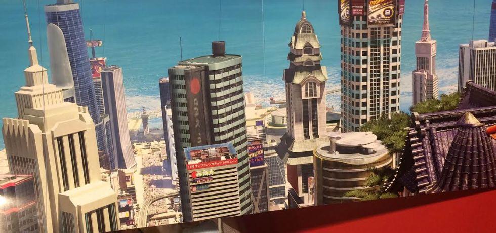 disney's folder featuring the San Fransokyo skyline