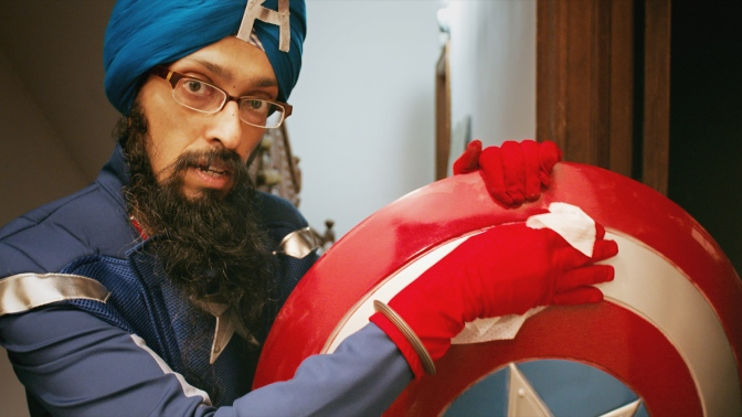 Sikh Captain America: The Man Behind the Shield