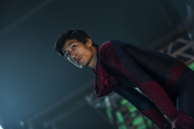 Ilram Choi, Andrew Garfield's stunt-double in The Amazing Spider-Man 2