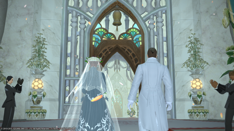 Now you can even get married in-game.  Better yet, same-sex marriages are acceptable.