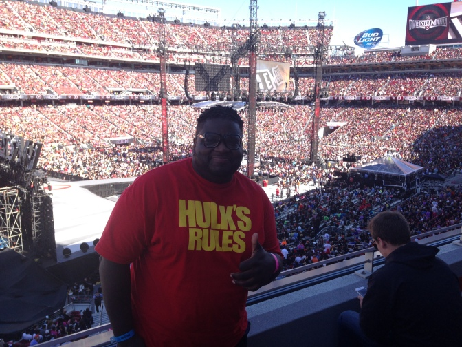 The Show of Shows: Being at <i>Wrestlemania 31</i>