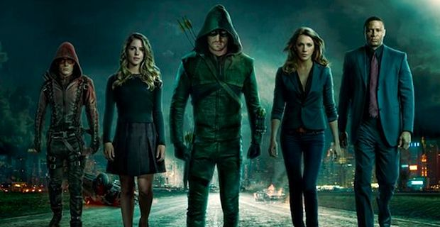 Then Arrow (2012) happened. It was such a breath of fresh are for live action superhero entertainment on our televisions. It wasn't as hokey as Smallville, or as 'the hell with canon and quality' like the Marvel live action television shows. Arrow is gritty, as realistic as the fantastic could be, and provided us with just enough DCU Easter eggs to keep us watching week to week.