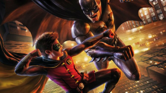 <i>Batman Vs. Robin</i>: Now with Color Commentary