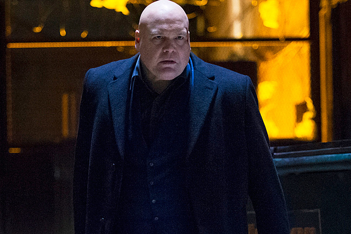 And then there is Vincent D'Onofrio as Wilson Fisk. This portrayal has set the bar for all villains, super or not. His motivations are clear, even though we may disagree with is tactics.