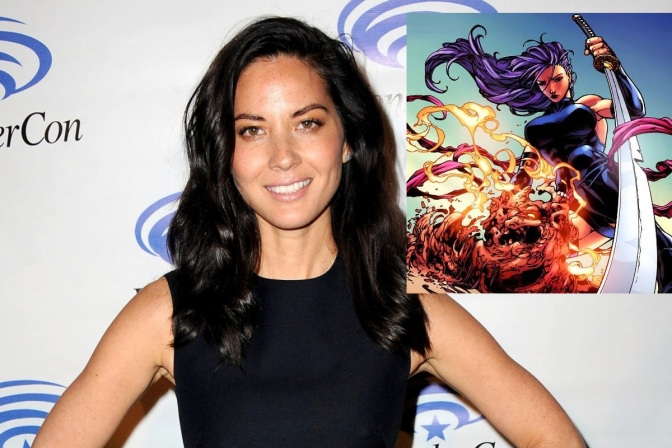 NOCs of the Roundtable: Olivia Munn is Psylocke
