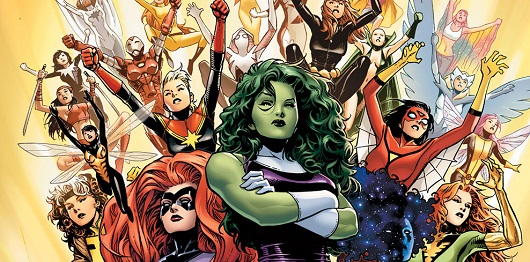 A-Force. Read this book.