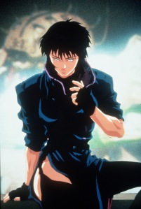 "FG.Anamation.12–02–96.KK.2$Main character from anamated film ""Ghost in the Shell"" Major Motoko/Kusanagi–A 21st century cybernetic female cop. Kodansha,Bandai Visual, Manga Entertainment"