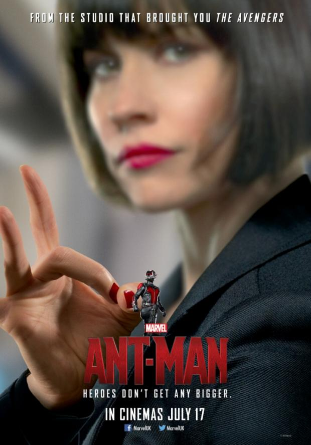 I wish I could say more about Evangeline Lily's Hope Van Dyne (peep the last name. yes, the Wasp shows up. yes, she is Pym's daughter), but she was so underdeveloped. She made do with what she was given, but it was disappointing to see another Iron Lady made that way because of unresolved daddy issues.