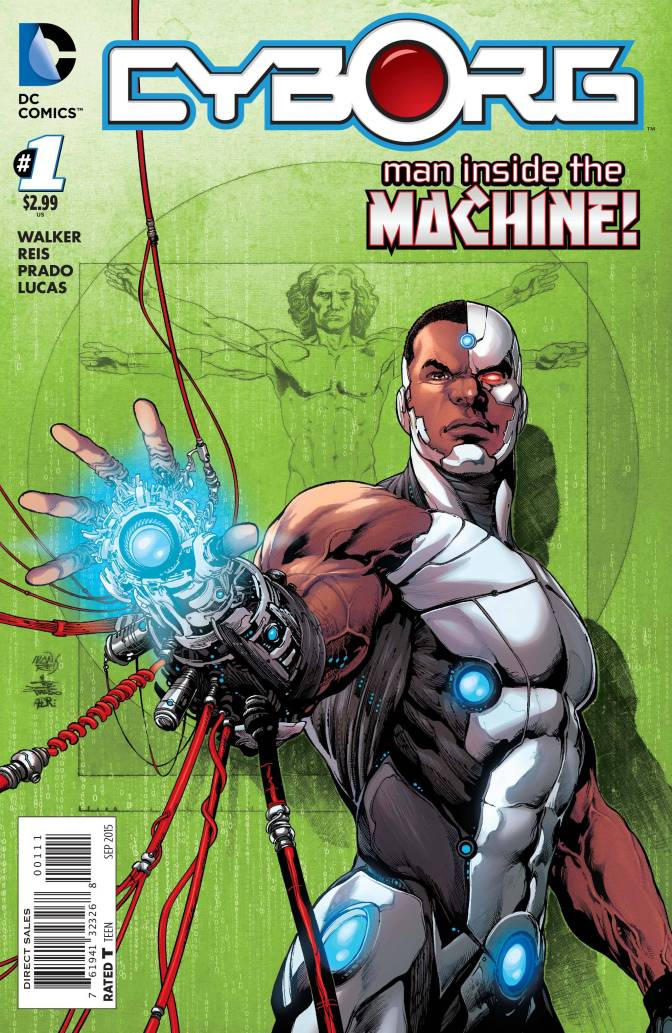 Five Reasons You Should Pick Up <i>Cyborg</i> #1