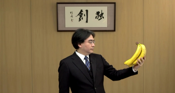 Iwata was no stranger to memes.  He basically welcomed them.