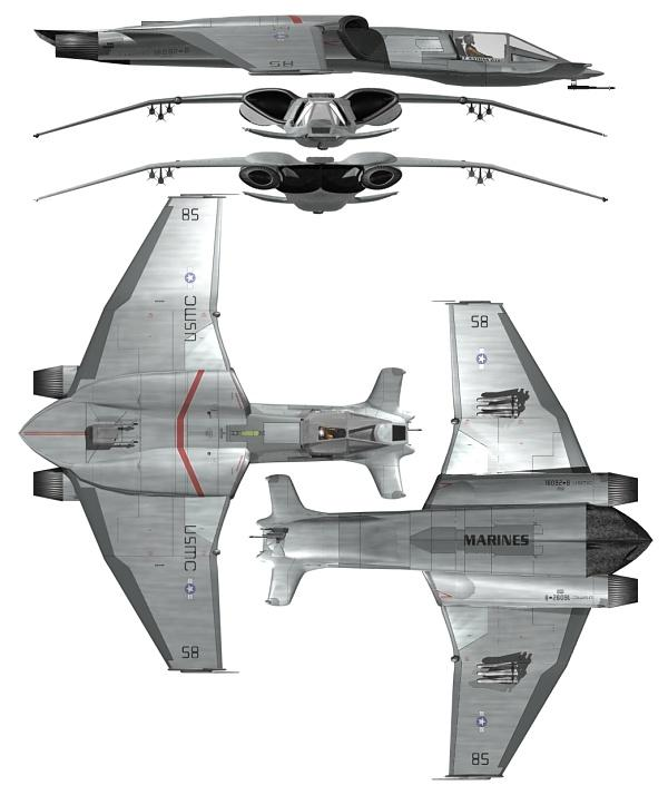 I don't know about any of you, but many of the designs gave me the same feeling as when I saw the Hammerhead from Space: Above and Beyond. That space-faring fighter was so amazing when I first saw it.