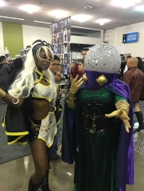 Storm and Mysterio