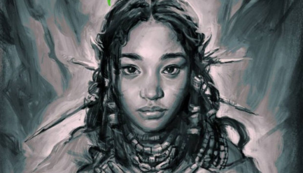 """Niobe"" comic. Art by Ashley Woods, written by Amandla Stenberg and Sebastian Jones."