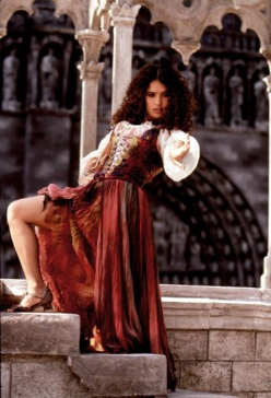 Salma Hayek as Esmeralda in The Hunchback (1997)