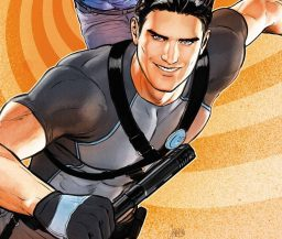 Dick Grayson in Grayson Annual #2 art by Mikel Janin