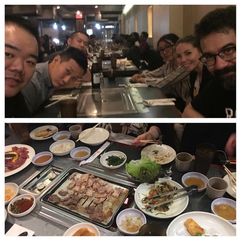 with Greg Pak, Marjorie Liu, Sana Takeda, Ren Hsieh, and Carl Choi