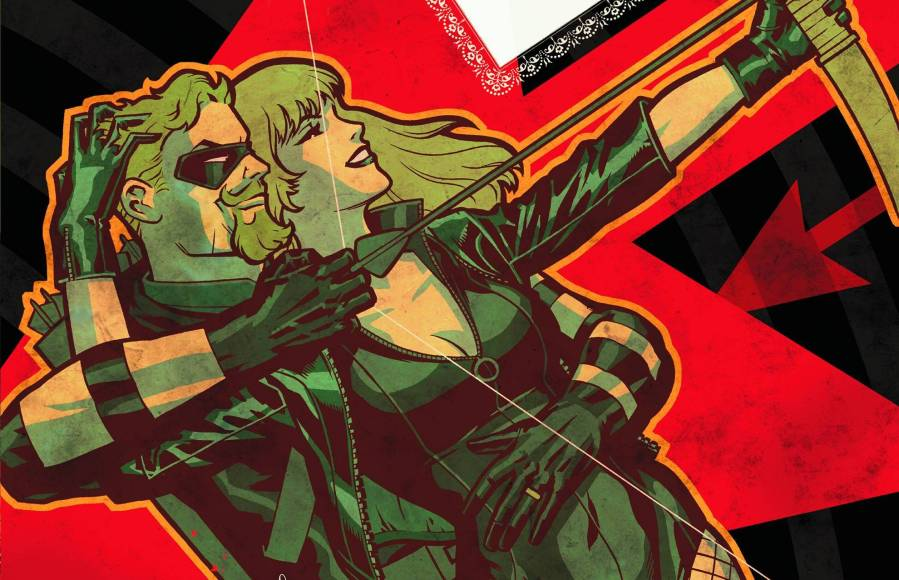 Green Arrow/Black Canary: The Wedding Album