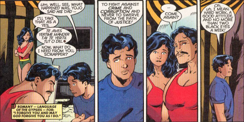 The Titans #16 (1999) by Devin Grayson, Mark Buckingham, Marlo Alquiza, Richard Bonk, Gregory Wright