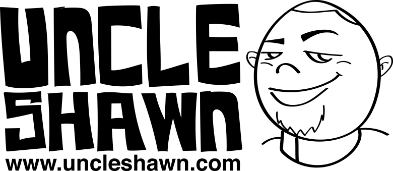 UNCLE SHAWN ICON black web