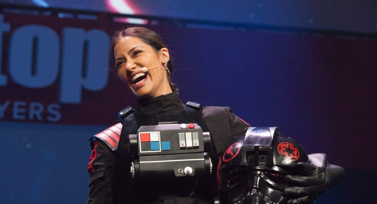 Janina Gavankar: How a Nerd of Color Became the Face of Star Wars