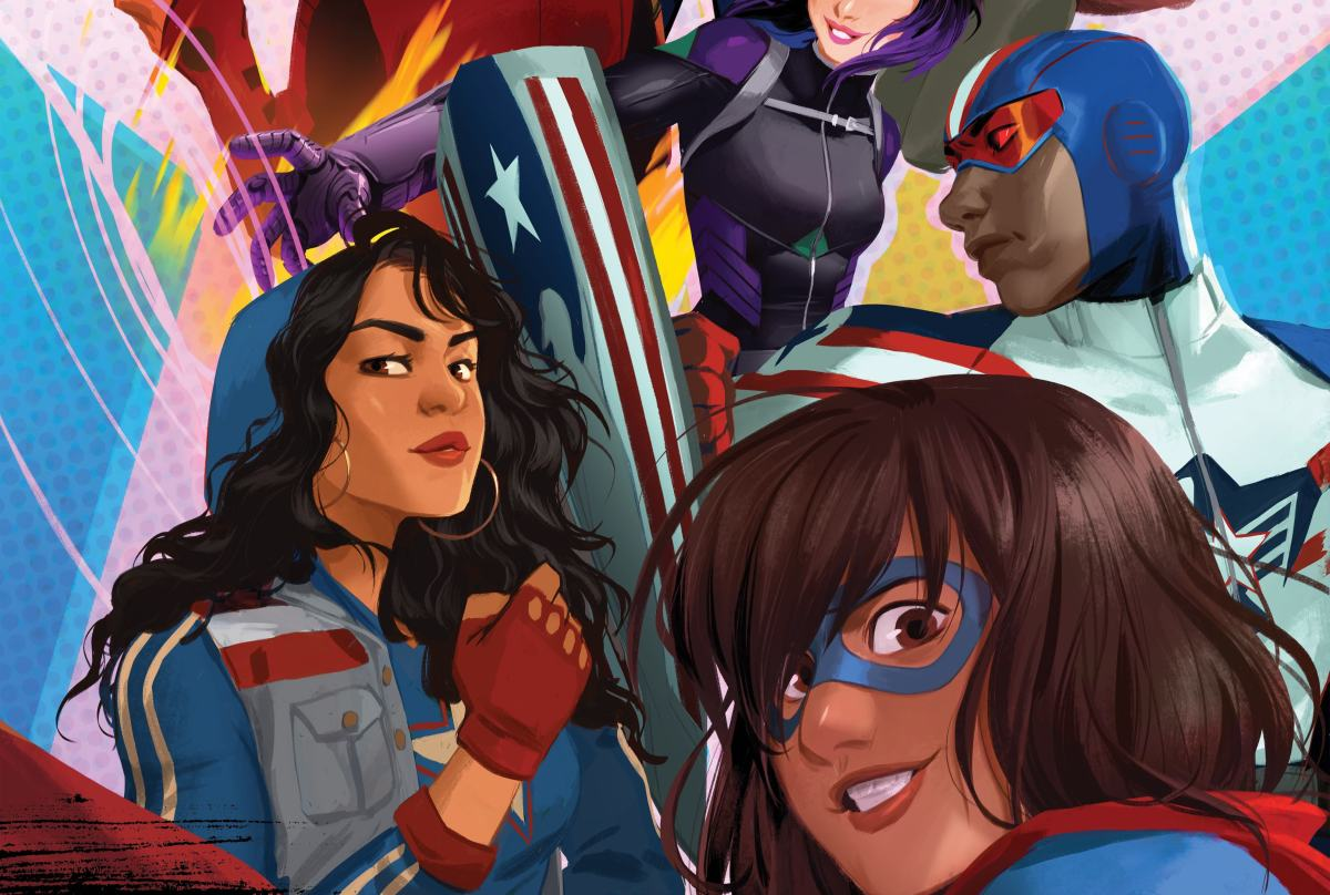 A New Generation of Marvel Heroes is 'Rising'