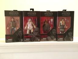 "6"" Black Series figures from Hasbro"