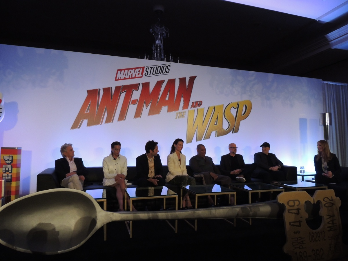 Ant-Man and The Wasp press conference details