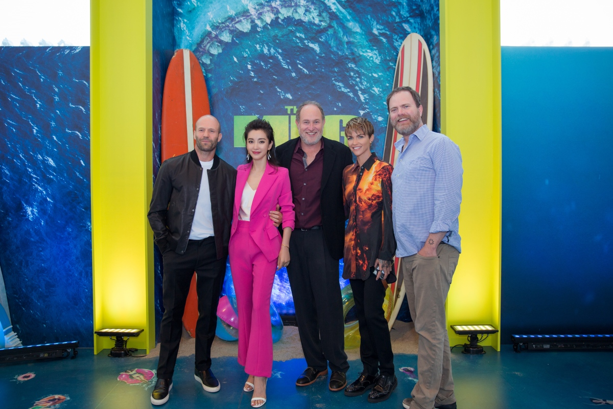 'The Meg' Director Jon Turtletaub Says There's No Excuse for a Non-Diverse Cast
