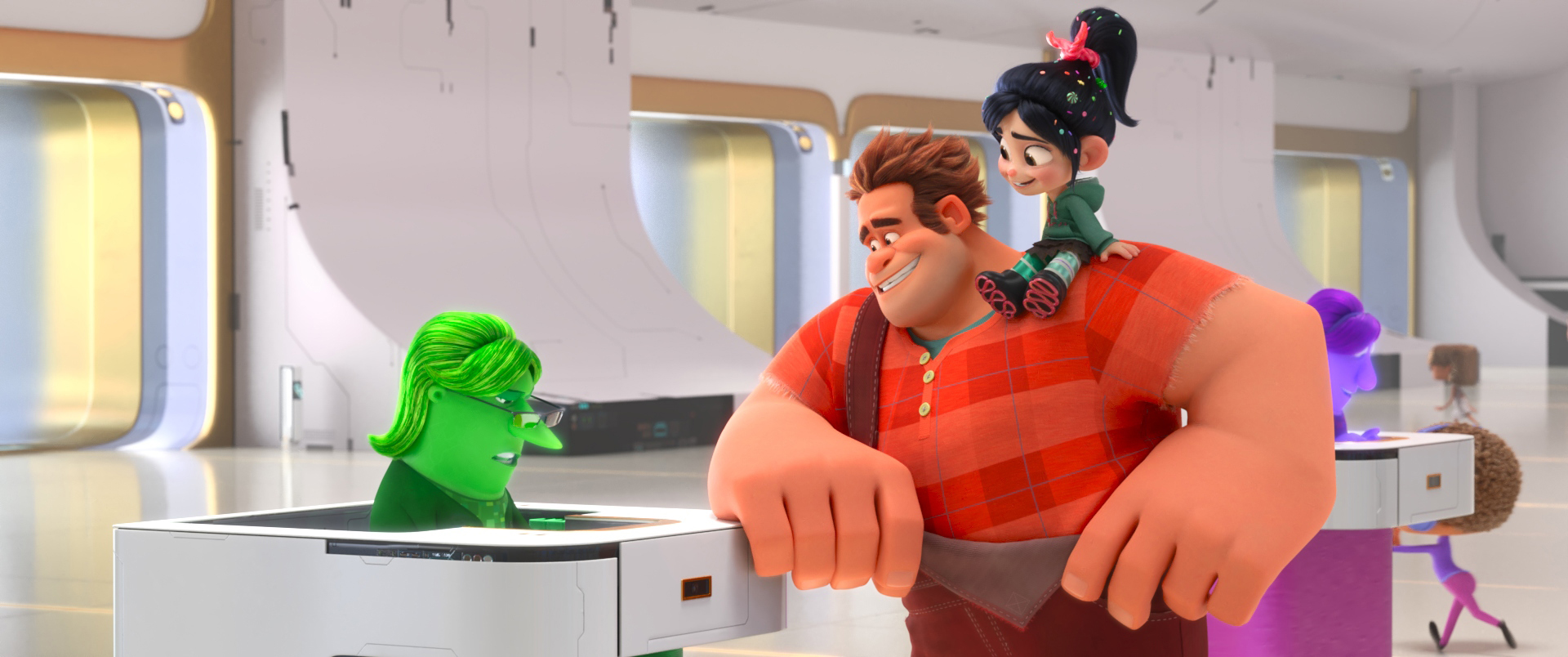 Behind The Scenes Of Ralph Breaks The Internet The Nerds Of Color